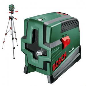 Лазерный нивелир BOSCH PCL 20 SET
