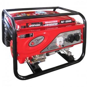 Бензиновый генератор Бригадир Standart БГ 2500