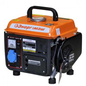Бензиновый генератор Энергомаш ЭГ-87080