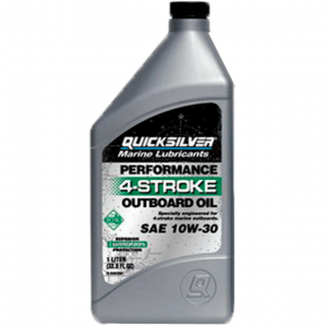 Моторное масло QUICKSILVER 4-х такт. 10w30 (1Л)