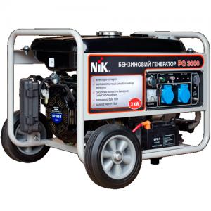 Бензиновый генератор NiK PG 3000