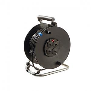 Барабанный удлинитель Schwabe 50м H05VV-F 3G1,5