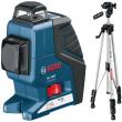 Линейный лазерный нивелир BOSCH GLL 2-80 P + BS 150