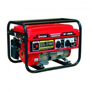 Бензиновый генератор Бригадир Standart БГ 2000